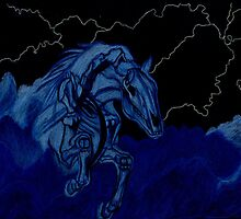Nightmare in Storm Clouds by Tony Sturtevant