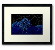 Nightmare in Storm Clouds Framed Print