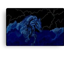 Nightmare in Storm Clouds Canvas Print