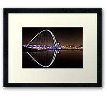 Infinity Bridge - Stockton Framed Print