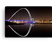 Infinity Bridge - Stockton Canvas Print
