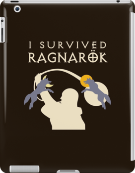 I Survived Ragnarok (Wolves) by jezkemp