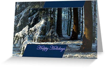 Pines Doorway - Happy Holidays by steppeland