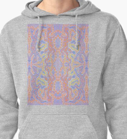 Fluorescent Pastel Aborigine Pullover Hoodie