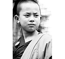 Boy Monk Proud - Tibetan Faces Photographic Print