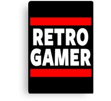 Retro Gamer Canvas Print
