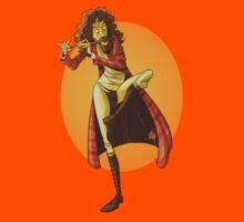 The Minstel In The Short Sleeve Tee by Lauren Gramprey
