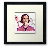 Reid/Gubler imaginary friend Framed Print