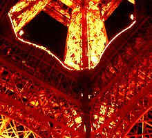 Up The Skirt of Le Eiffel  by Meaghan Tucker