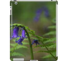 Bluebells, ferns and ladybird iPad Case/Skin