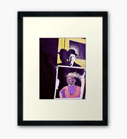 Meet Magritte. Framed Print