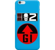 Gunnar BioChip and GI Badge iPhone Case/Skin
