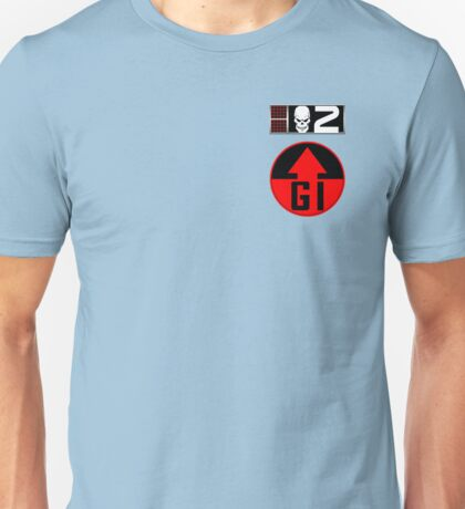 Gunnar BioChip and GI Badge Unisex T-Shirt