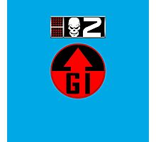 Gunnar BioChip and GI Badge Photographic Print