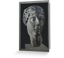 Greek Goddess Greeting Card