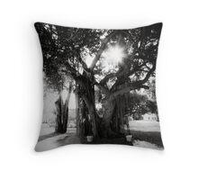 Tree Light Throw Pillow