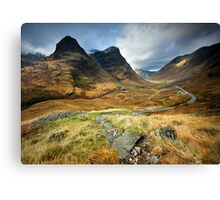 Scotland : Shadow of Glencoe Canvas Print