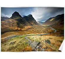 Scotland : Shadow of Glencoe Poster