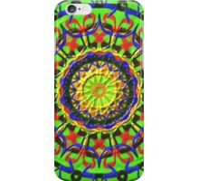 Trendy Circle colorful pattern iPhone Case/Skin