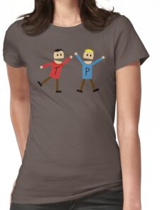 Terrence & Philip - South Park Womens Fitted T-Shirt