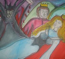 Sleeping Beauty  by Anthea  Slade