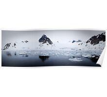 Woodfjord - Svalbard Poster