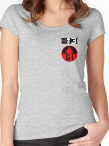 Bagman BioChip and GI Badge Women's Fitted Scoop T-Shirt
