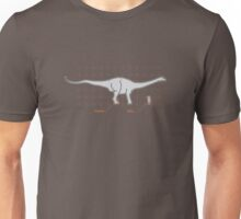 Size comparison chart Unisex T-Shirt