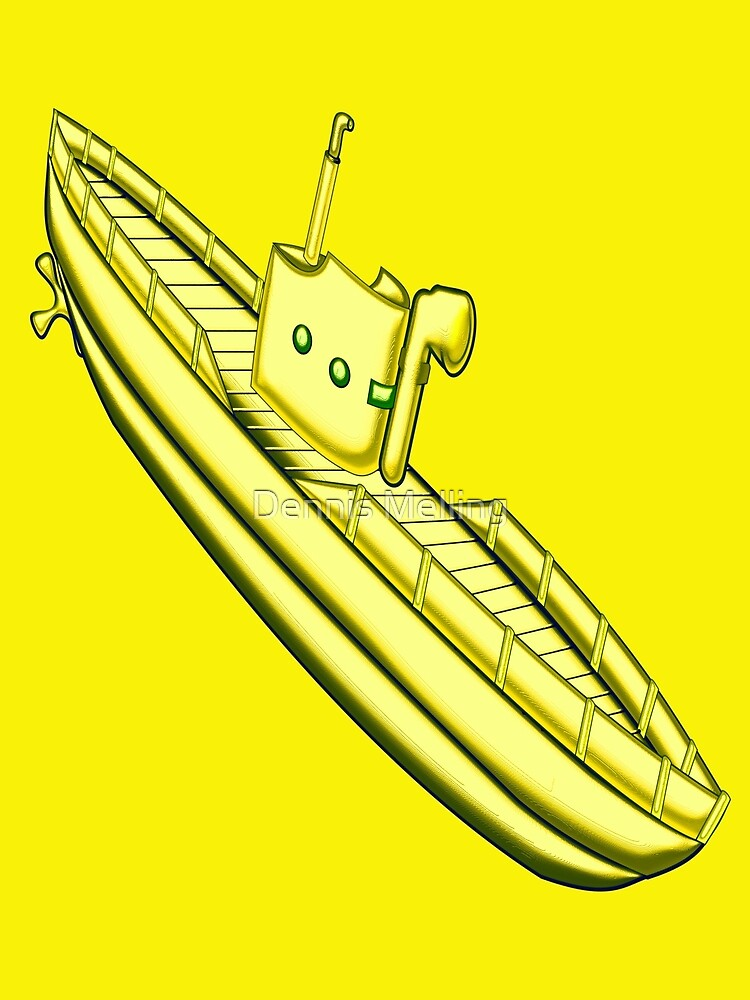 A Yellow Submarine design by Dennis Melling