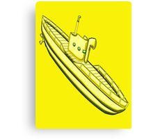 A Yellow Submarine design Canvas Print