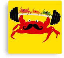 Mr. Crab Canvas Print