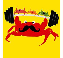 Mr. Crab Photographic Print