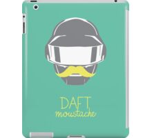 Daft moustache 1 iPad Case/Skin