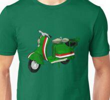 Fifties Lambretta Green decal Unisex T-Shirt