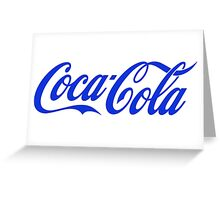 Coca Cola 4K Greeting Card