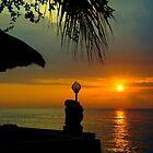 Sunset in Senggigi by myrbpix