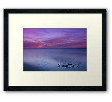 Port Noarlunga Beach Framed Print