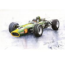 Lotus 49 Ford F1 Jim Clark Photographic Print