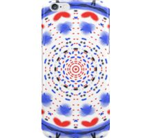 Unique abstract multicolored pattern iPhone Case/Skin