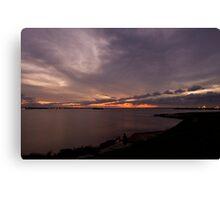 LP Sunset Canvas Print
