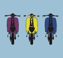 Scooter Pop Art 3rb by Auslandesign