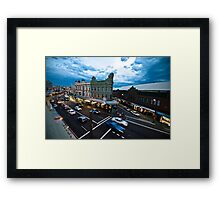 King Street Framed Print