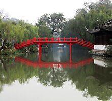 Shou Xi Hu, Yangzhou, Jiangsu, China by DaveLambert