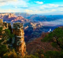 Grand Canyon With Colorado River by Chuck Underwood