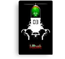 Killbot 03: Bitter Pill Canvas Print