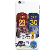 Lebron James vs Stephen Curry Jersey iPhone Case/Skin