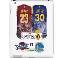 Lebron James vs Stephen Curry Jersey iPad Case/Skin