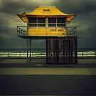 Life Guard Tower by mark thompson