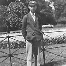 1930 My father as a schoolboy by Woodie
