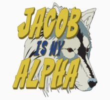Jacob is my Alpha Twiliight by gleekgirl